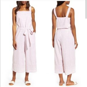 BeachLunchLounge Striped Talia Jumpsuit